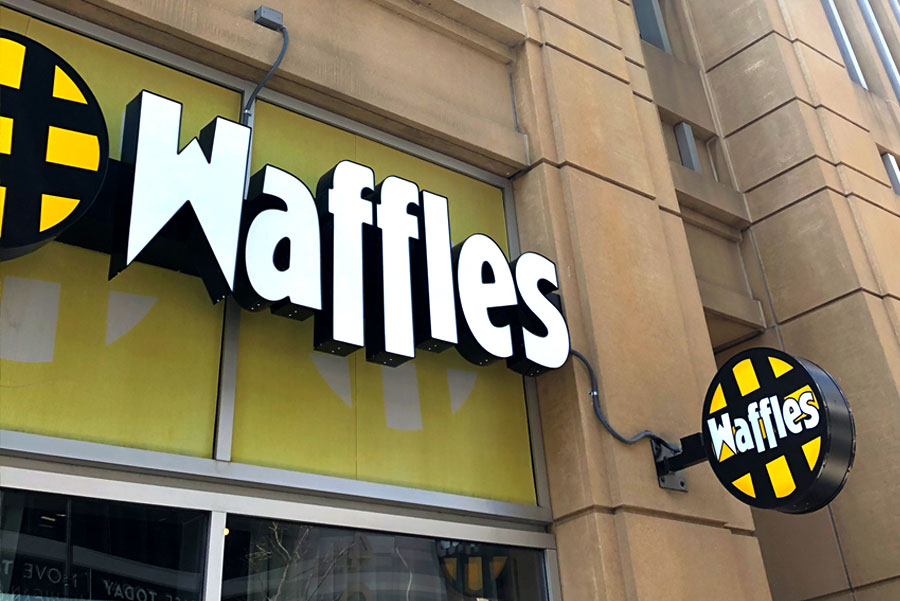 Chicago Waffles: South Loop