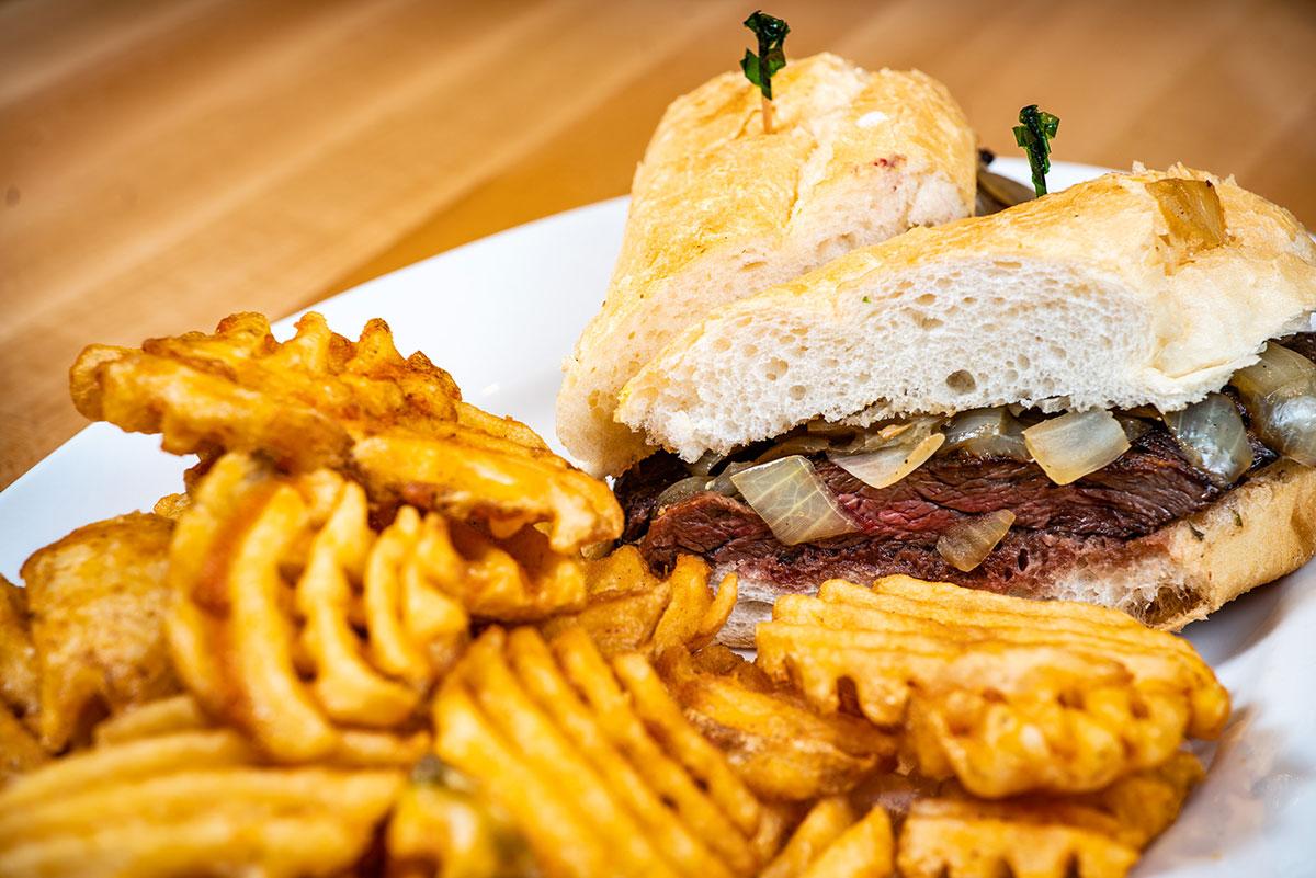 Steak Torta Sandwich